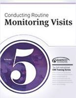 Picture of CRA Training Series: Volume 5 - Conducting Routine Monitoring Visits (2018)