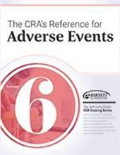 Picture of CRA Training Series: Volume 6 - The CRA's Reference for Adverse Events (2018)