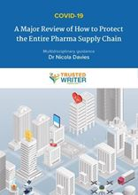 Picture of COVID-19: A Major Review of How to Protect the Entire Pharma Supply Chain